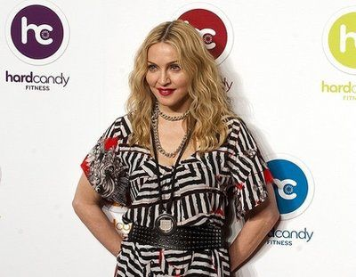 Madonna Open Fitness Center Hard Candy in Russia